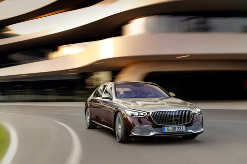 Mercedes-Maybach S-Klasse.