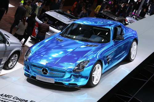 Mercedes SLS AMG Electric Drive.