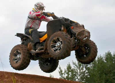 Michael Krambehr auf Can-Am Renegade 800 Xxc.
