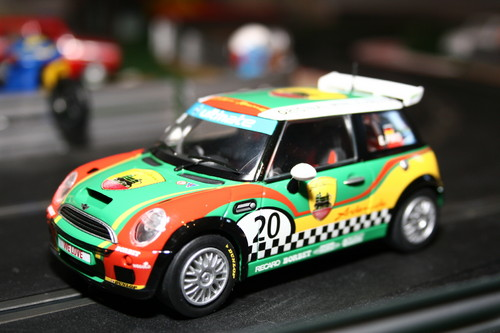 "Mini Copper ""E. Piro"" von Scalextric."