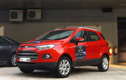 """NDTV Car of the Year""-Award: Ford Ecosport."