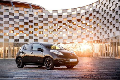 Nissan Leaf Black Edition.