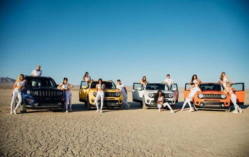 """Now United"" mit dem Jeep Renegade."