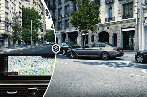On-Street Parking Information von BMW.
