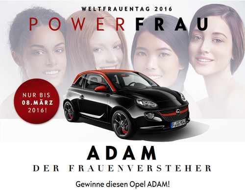 Opel Modellauto Adam Sonderedition Bourissa Dortmund