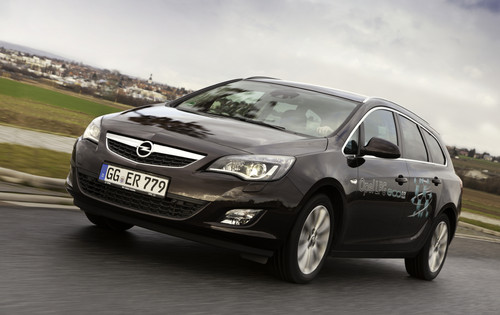 Opel Astra 1.4 LPG Sports Tourer.