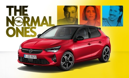 "Opel-Corsa-Kampagne ""The Normal Ones""."