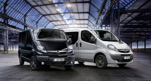 Opel Vivaro Color Edition und Komfort-Paket-Plus.