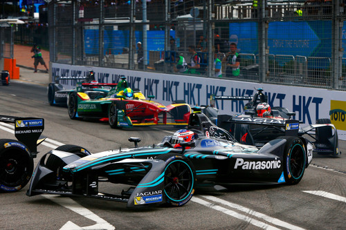 Panasonic Jaguar I-Type in Hongkong.
