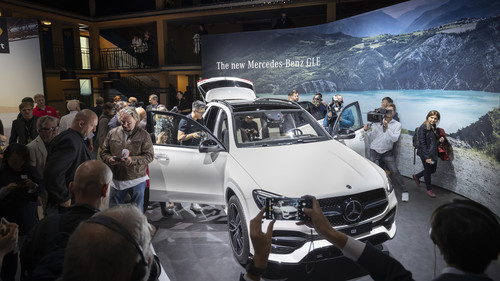 Pariser Autosalon 2018: Mercedes-Benz GLE.