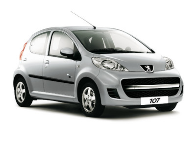 Peugeot 107 Black & Silver Edition.