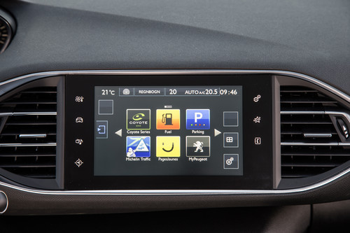 Peugeot Connected Apps.