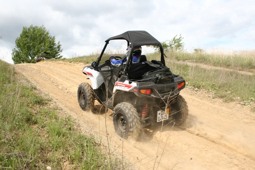 Polaris Sportman Ace.