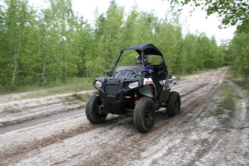 Polaris Sportsman Ace.