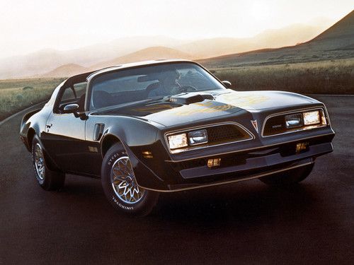 Pontiac Firebird Trans Am (1976).