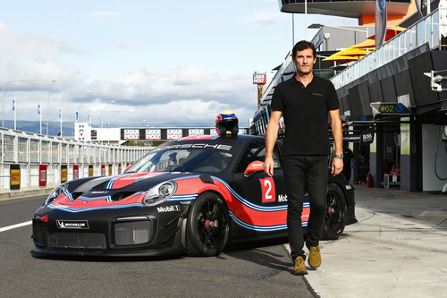 Porsche 911 GT2 RS Clubsport, Mark Webber.