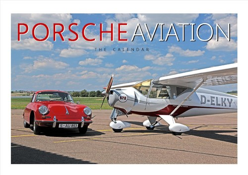 """Porsche Aviation – The Calendar""."