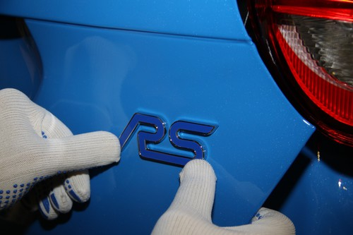 Produktion des Ford Focus RS.