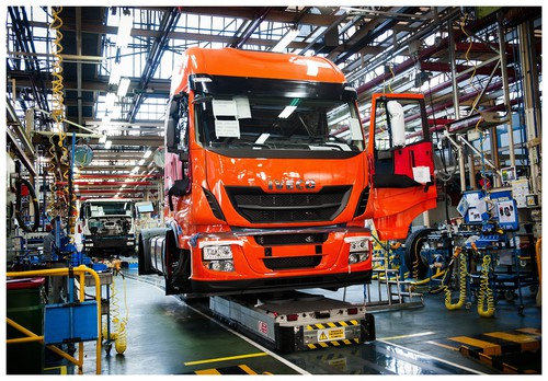 Produktion des Iveco Stralis in Madrid.