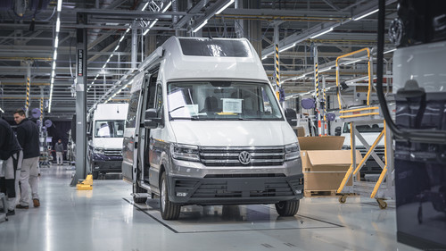 Produktion des VW Grand California.