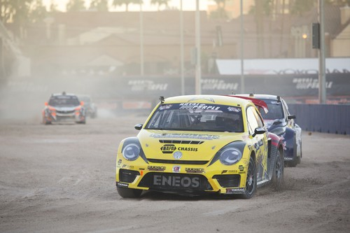 Rallye Cross Finale in Las Vegas.