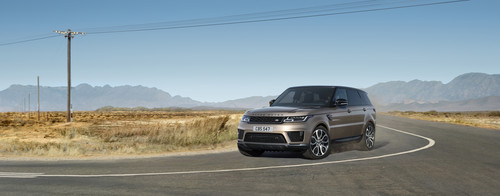 Range Rover Sport HSE Silver.