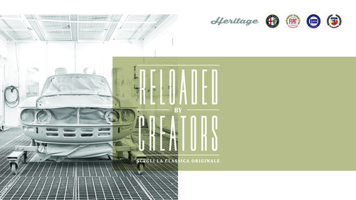 """Reloaded by Creators"" von FCA Heritage."