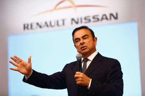 Renault-Chef und Nissan-Allianz-Boss Charles Ghosn.