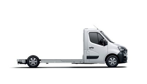 Renault Master Fahrgestell.