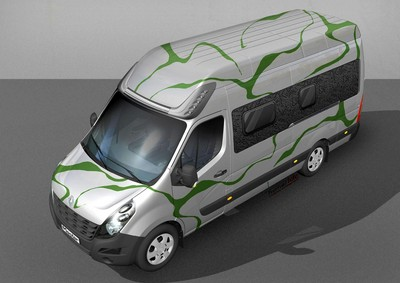 "Renault Master ""Flowing Nature""."
