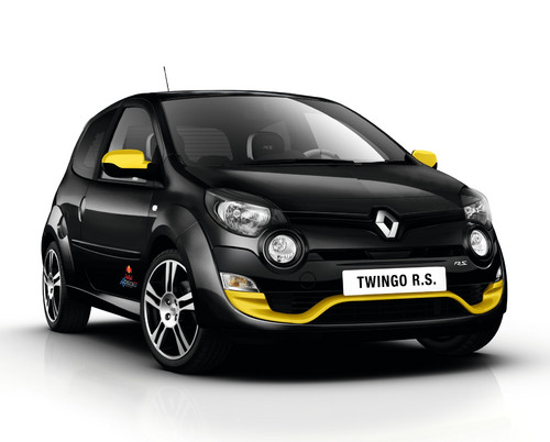 Renault Twingo R.S. Red Bull Racing im Formel 1-Look.