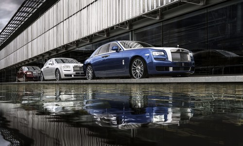 Rolls-Royce Ghost Zenith Collection.
