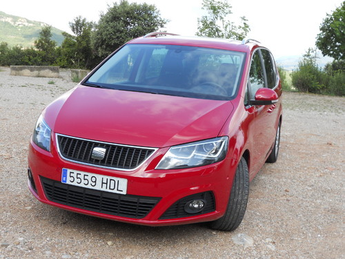 Seat Alhambra 4WD.