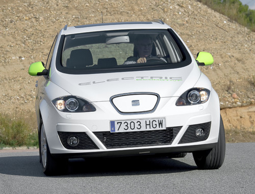 Seat Altea XL Electric Ecomotive.