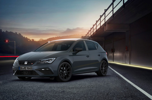 "Seat Leon TGI FR ""Black Matt Edition""."