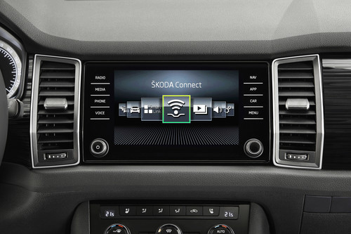 Skoda Connect im Kodiaq.