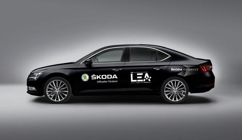 "Skoda ist Shuttle-Partner des ""PRG Live Entertainment Award"" in Frankfurt."
