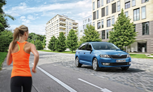 Skoda Rapid Spaceback Cool Edition.