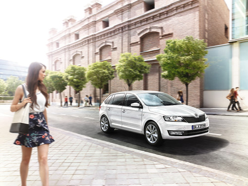 Skoda Rapid Spaceback Drive.