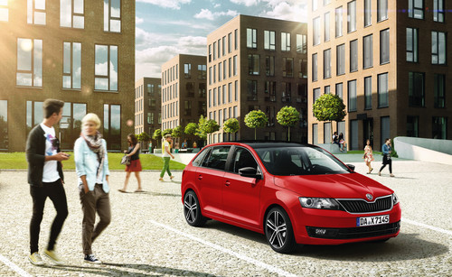 Skoda Rapid Spaceback Emotion Plus.