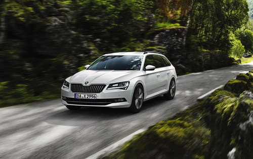 Skoda Superb 1,6 TDI Greenline.