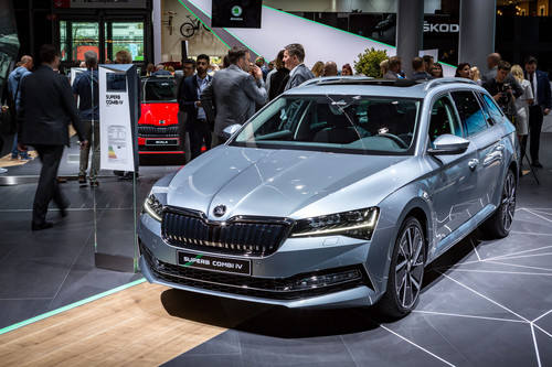 Skoda Superb Combi iV.
