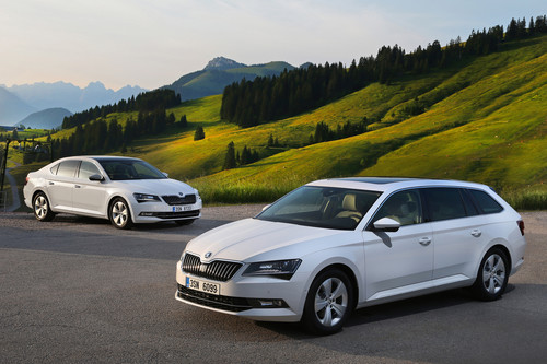 Skoda Superb Greenline.