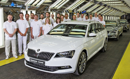 Skoda-Superb-Produktion.