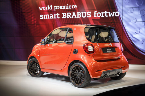 Smart Brabus Fortwo.