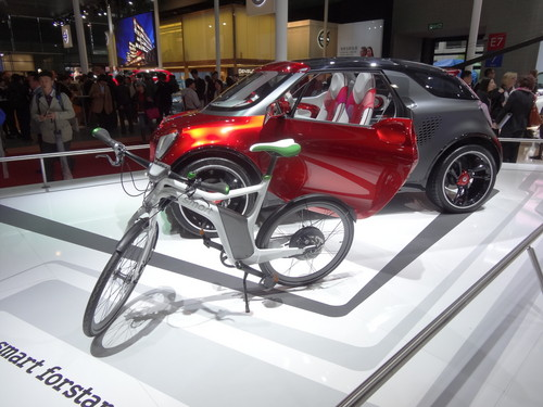 Smart E-Bike und Smart Forstars.