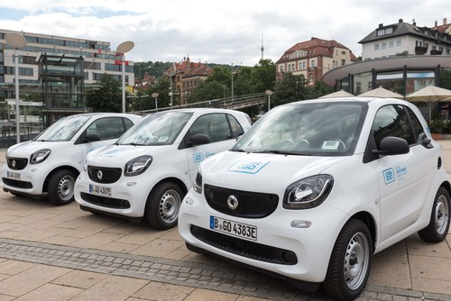 Smart EQ Fortwo Car2go.
