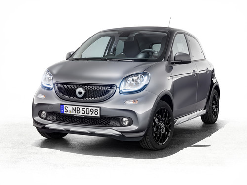 Smart Forfour Crosstown Edition.