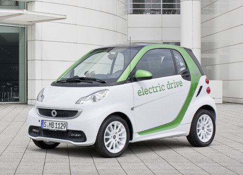 Smart Fortwo Electric Drive.