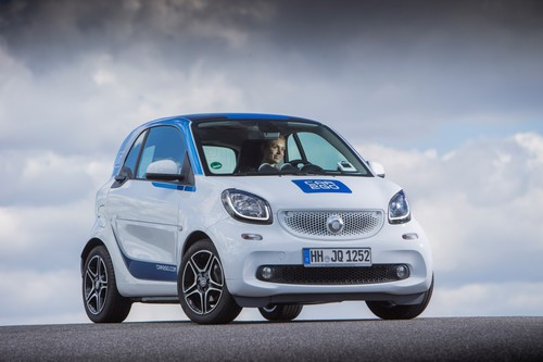 Smart Fortwo von Car2go.
